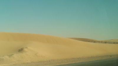 サウジアラビアの砂山の写真