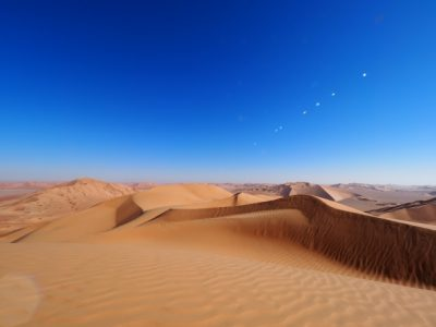 砂漠 ロボーハレ