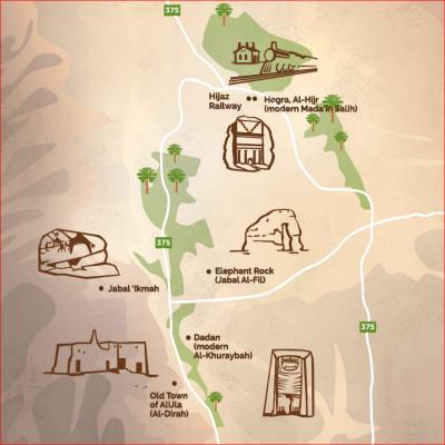 tantora map