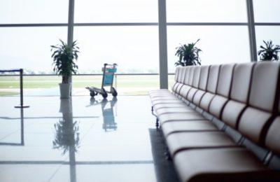 空港搭乗口