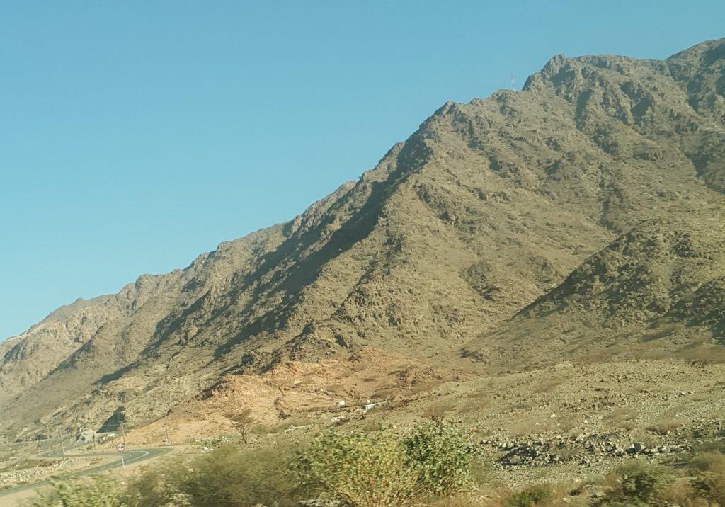 サウジアラビアの山脈