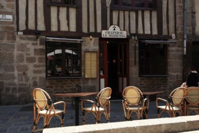外国のレストランクレープハウス